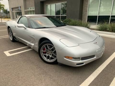 2003 Chevrolet Corvette for sale at San Diego Auto Solutions in Escondido CA