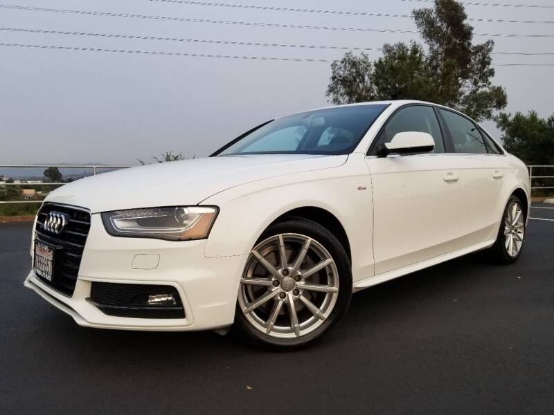2016 Audi A4 for sale at San Diego Auto Solutions in Escondido CA