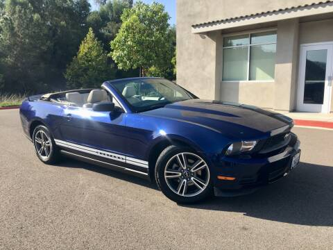 2010 Ford Mustang for sale at San Diego Auto Solutions in Escondido CA