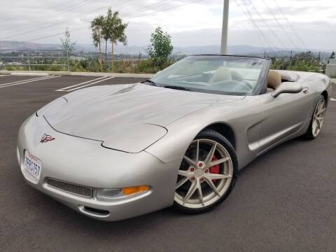 1999 Chevrolet Corvette for sale at San Diego Auto Solutions in Escondido CA
