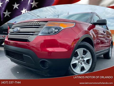 2013 Ford Explorer for sale at LATINOS MOTOR OF ORLANDO in Orlando FL