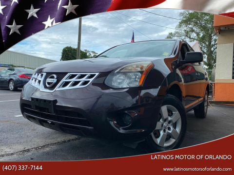 2014 Nissan Rogue Select for sale at LATINOS MOTOR OF ORLANDO in Orlando FL