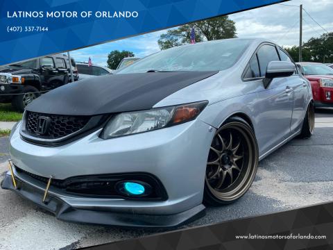 2014 Honda Civic for sale at LATINOS MOTOR OF ORLANDO in Orlando FL