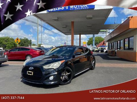 2016 Hyundai Veloster for sale at LATINOS MOTOR OF ORLANDO in Orlando FL