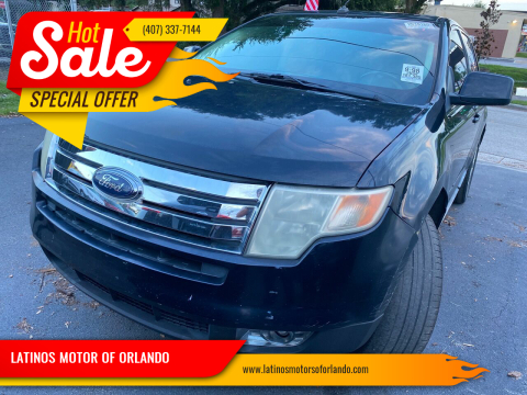 2008 Ford Edge for sale at LATINOS MOTOR OF ORLANDO in Orlando FL