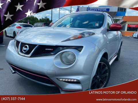 2013 Nissan JUKE for sale at LATINOS MOTOR OF ORLANDO in Orlando FL