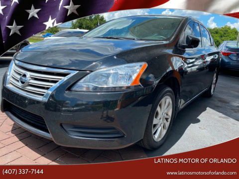 2015 Nissan Sentra for sale at LATINOS MOTOR OF ORLANDO in Orlando FL