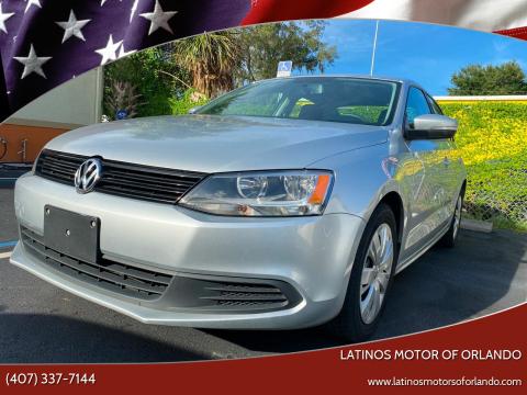 2014 Volkswagen Jetta for sale at LATINOS MOTOR OF ORLANDO in Orlando FL
