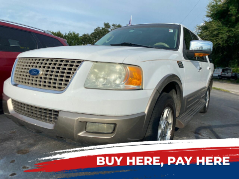 2003 Ford Expedition for sale at LATINOS MOTOR OF ORLANDO in Orlando FL