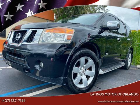 2008 Nissan Armada for sale at LATINOS MOTOR OF ORLANDO in Orlando FL