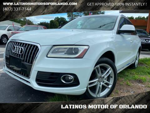 2015 Audi Q5 for sale at LATINOS MOTOR OF ORLANDO in Orlando FL