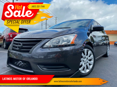 2014 Nissan Sentra for sale at LATINOS MOTOR OF ORLANDO in Orlando FL