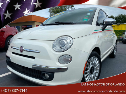 2012 FIAT 500 for sale at LATINOS MOTOR OF ORLANDO in Orlando FL
