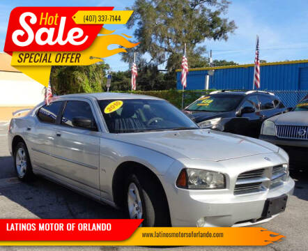 2010 Dodge Charger for sale at LATINOS MOTOR OF ORLANDO in Orlando FL