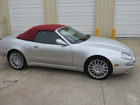 2002 Maserati Spyder for sale in Holly Hill, FL