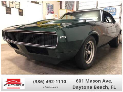 1967 Chevrolet Camaro for sale at A7 AUTO SALES in Daytona Beach FL