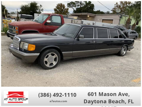 1988 Mercedes-Benz 560-Class 560 SEL for sale at A7 AUTO SALES in Daytona Beach FL