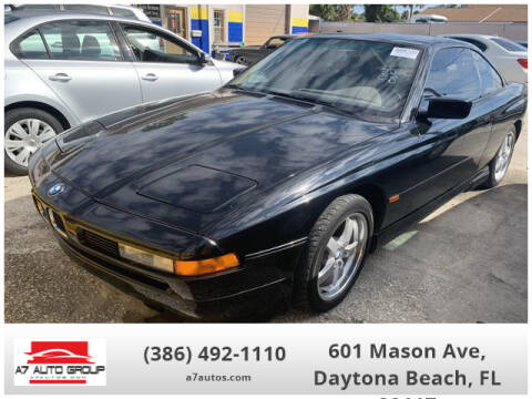 1995 BMW 8 Series 840Ci for sale at A7 AUTO SALES in Daytona Beach FL
