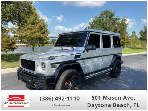 2002 Mercedes-Benz G-Class G 500 for sale at A7 AUTO SALES in Daytona Beach FL