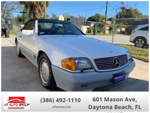 1992 Mercedes-Benz 500-Class 500 SL for sale at A7 AUTO SALES in Daytona Beach FL