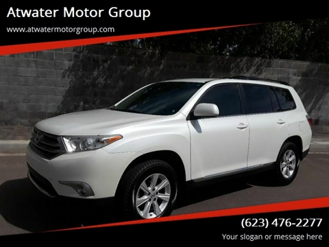 2012 Toyota Highlander For Sale >> Used 2012 Toyota Highlander For Sale In Phoenix Az Carsforsale Com