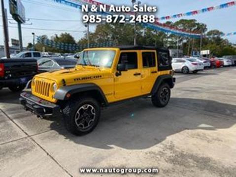 2015 Jeep Wrangler Unlimited for sale in Houma, LA
