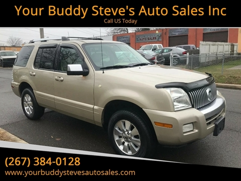 2006 Mercury Mountaineer for sale in Croydon, PA