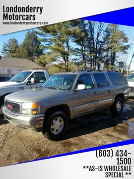 2003 GMC Yukon XL for sale in Londonderry, NH