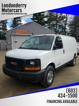 2005 GMC Savana Cargo for sale in Londonderry, NH