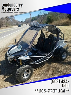 2017 DF MOTO Warrior 200 for sale in Londonderry, NH