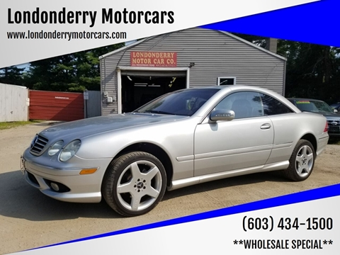 2003 Mercedes-Benz CL-Class for sale in Londonderry, NH