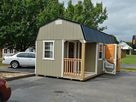 2018 Cedar Lane Storage Building 10x20 High Barn w/ front porch for sale in Madison Heights, VA
