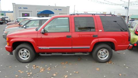 2000 Chevrolet Tahoe Limited/Z71 for sale in Moses Lake, WA