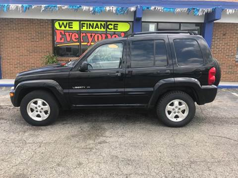 2002 Jeep Liberty for sale in Cincinnati, OH