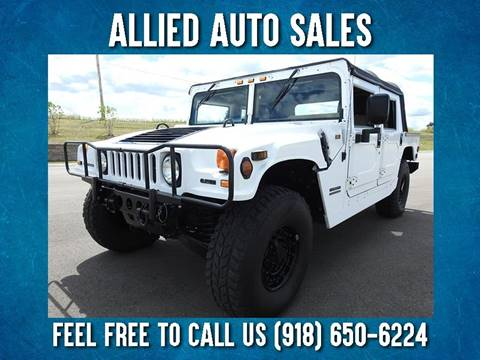 2000 AM General Hummer for sale in Tulsa, OK