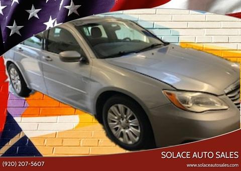 2013 Chrysler 200 for sale in Cedar Grove, WI