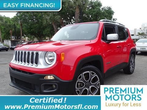 2016 Jeep Renegade for sale in Miami, FL