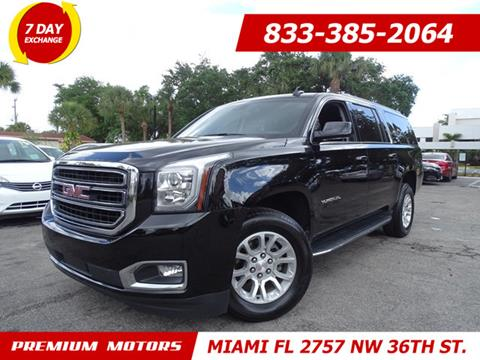 2017 GMC Yukon XL for sale in Miami, FL