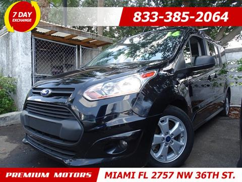 2016 Ford Transit Connect Wagon for sale in Miami, FL