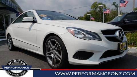 2015 Mercedes-Benz E-Class for sale in Wilton, CT