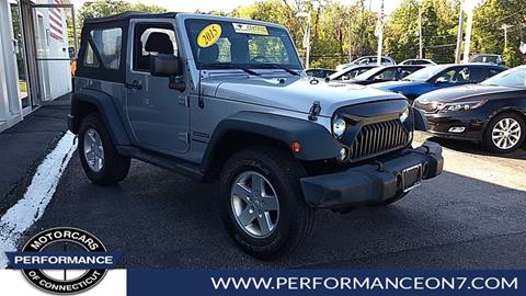 2015 Jeep Wrangler for sale in Wilton, CT