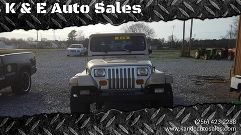1993 Jeep Wrangler for sale in Ardmore, AL