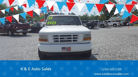 1992 Ford F-150 for sale in Ardmore, AL