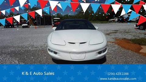 1999 Pontiac Firebird for sale in Ardmore, AL
