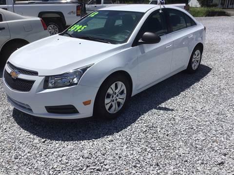 2012 Chevrolet Cruze for sale in Ardmore, AL