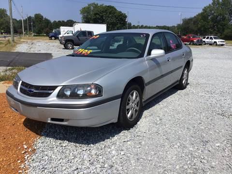 2004 Chevrolet Impala for sale in Ardmore, AL