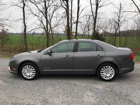 2012 Ford Fusion Hybrid for sale at RAYBURN MOTORS in Murray KY