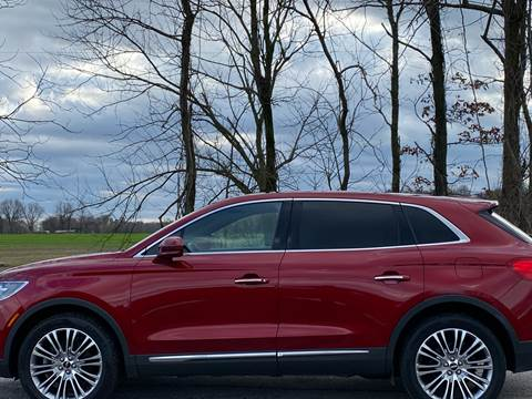 2017 Lincoln MKX for sale at RAYBURN MOTORS in Murray KY