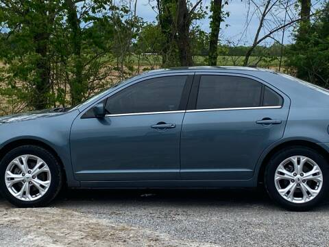 2012 Ford Fusion for sale at RAYBURN MOTORS in Murray KY