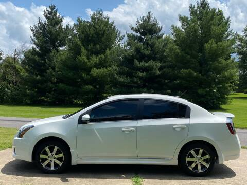 2012 Nissan Sentra for sale at RAYBURN MOTORS in Murray KY